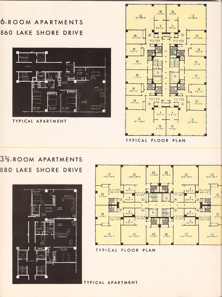 Floor Plans From The Glass House Brochure 2